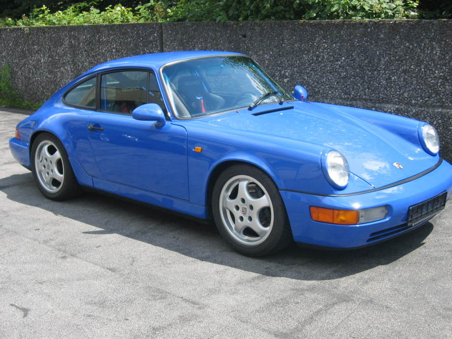 Porsche 911 T >> Porsche 964 RS Clubsport - ZNS499076 - Thomas Josef Schmitz